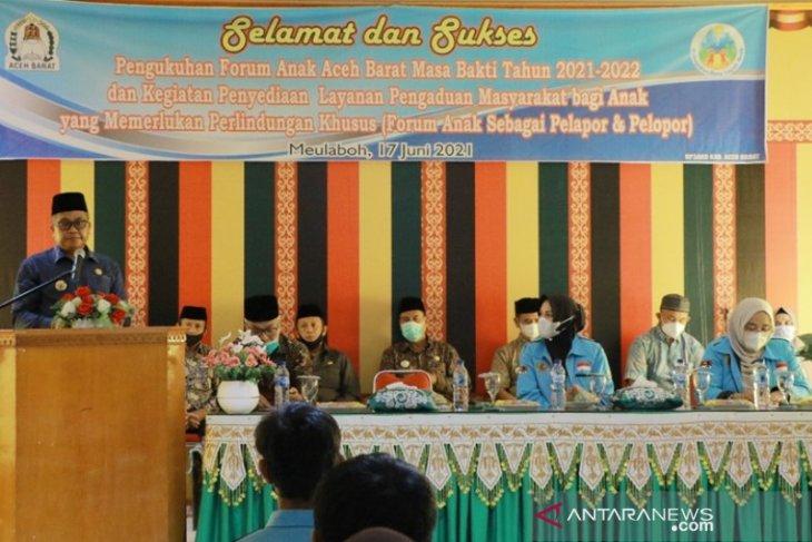 Aceh Barat bentuk forum anak untuk menjaga ideologi Pancasila dan NKRI