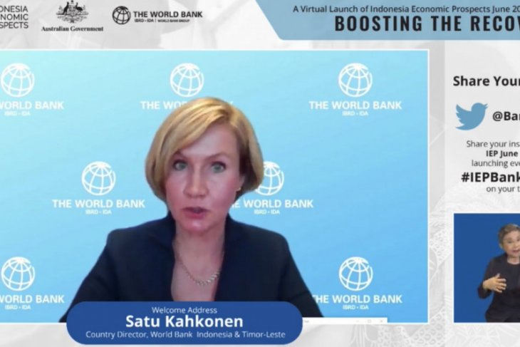 WB suggests four policies to facilitate Indonesia's crisis recovery