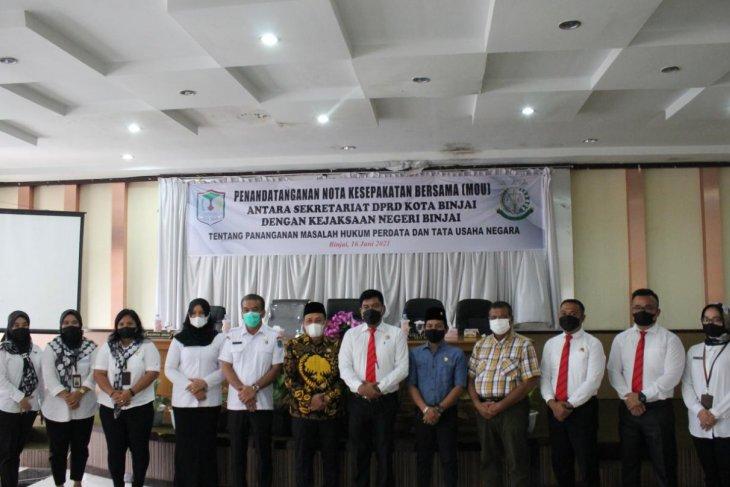 Kejaksaan Binjai dan Sekretariat DPRD jalin kerja sama