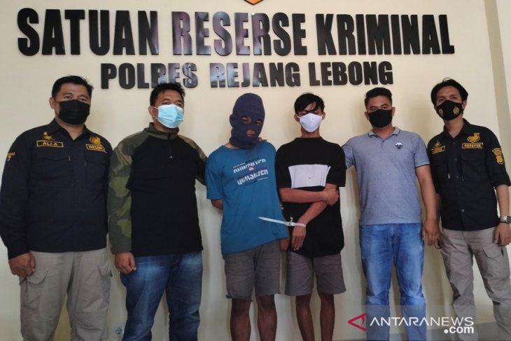 Polres Rejang Lebong amankan dua pelaku curanmor asal Lubuklinggau