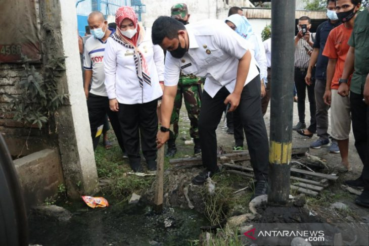 Pemkot Medan benahi drainase penyebab banjir di Medan Sunggal