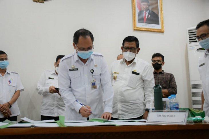 Bupati Citra Duani ikut rapat penyelesaian batas daerah dengan Ketapang