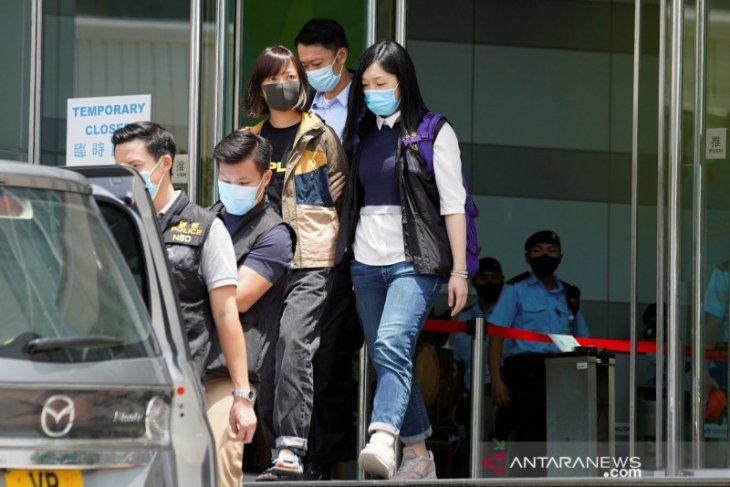 Polisi Hong Kong tangkap mantan jurnalis Apple Daily  di bandara