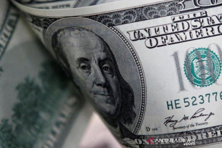 Dolar jatuh dari tertinggi 3 bulan, terseret investor beralih ke saham