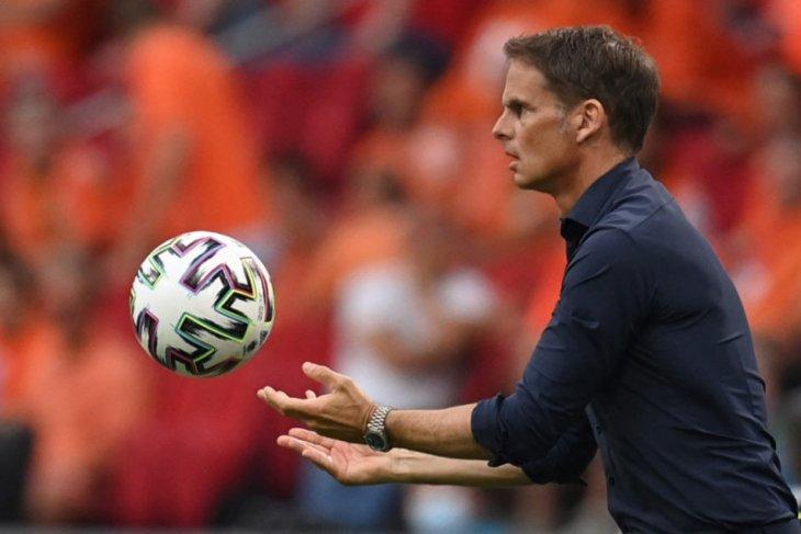 De Boer yakin Belanda akan semakin bagus di Euro 2020