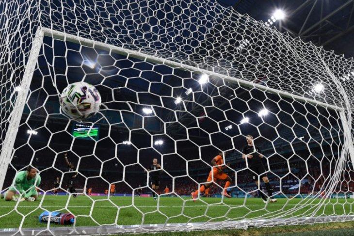 Euro 2020, benamkan Austria 2-0, Belanda ke-16 besar