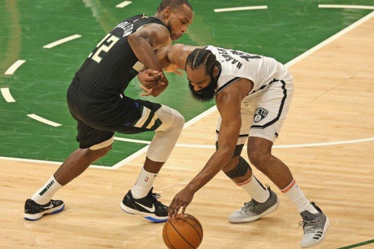 Playoff NBA, Bucks paksa Nets mainkan gim terakhir