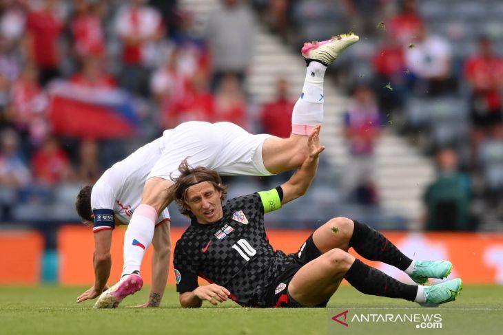 Euro 2020, Ceko terus jaga peluang 16 besar walau diimbangi Kroasia 1-1