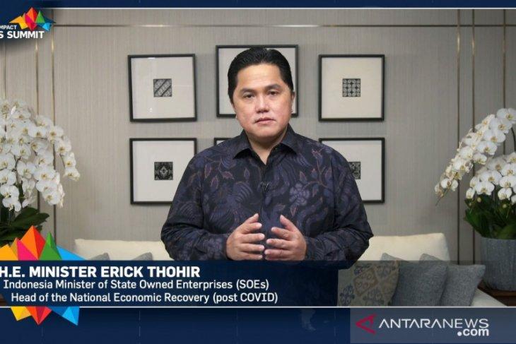 Erick Thohir katakan sinergi ciptakan peluang di tengah pandemi COVID-19
