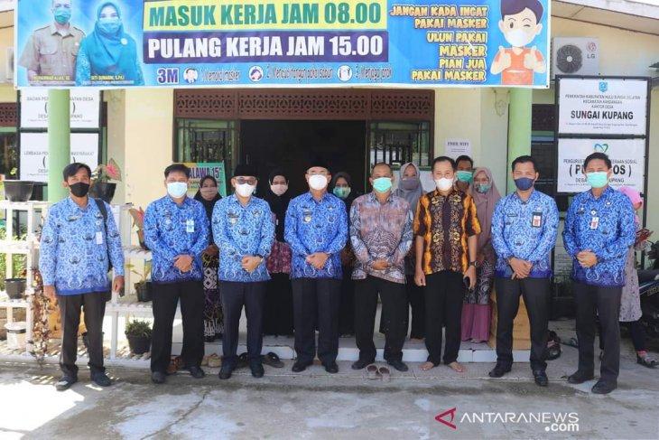 Bupati HSS pastikan kesiapan Kandangan Kota dan Sungai Kupang hadapi lomba desa