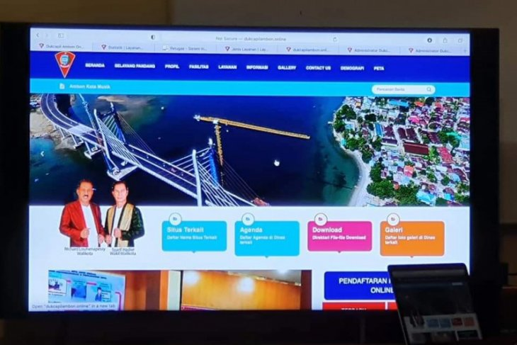 Disdukcapil Kota Ambon uji coba layanan go digital begini penjelasannya
