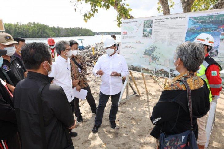 Dirjen Hubdat tinjau progres pembangunan dua pelabuhan di Nusa Penida-Bali