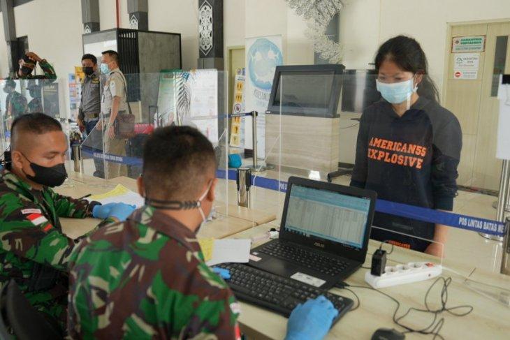 Satgas Pamtas bantu proses pemulangan WNI dari Malaysia melalui Entikong