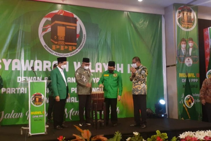 Muswil DPW PPP Maluku momentum konsolidasi partai begini penjelasannya