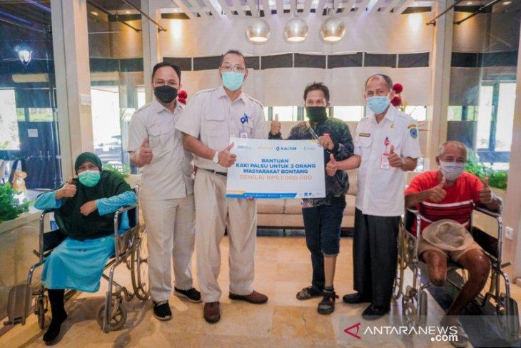 PKT Salurkan Bantuan Kaki Prosthesis bagi Tiga Warga Bontang