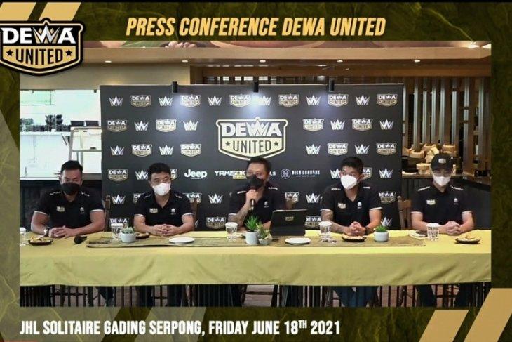Dewa United tunda grand launching karena lonjakan kasus COVID-19