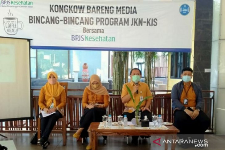 Perkuat sinergi dengan media, BPJS Kesehatan Pangkalpinang gelar Media Gathering