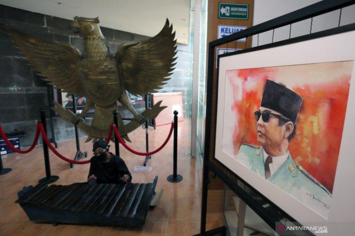 Pameran Lukisan Jejak Putera Sang Fajar
