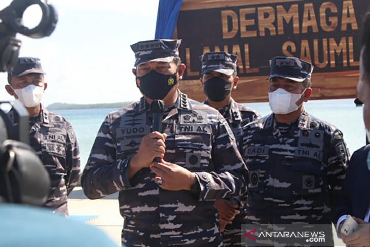 Kasal Minat pemuda di perbatasan masuk TNI AL minim perlu jadi perhatian Pemda