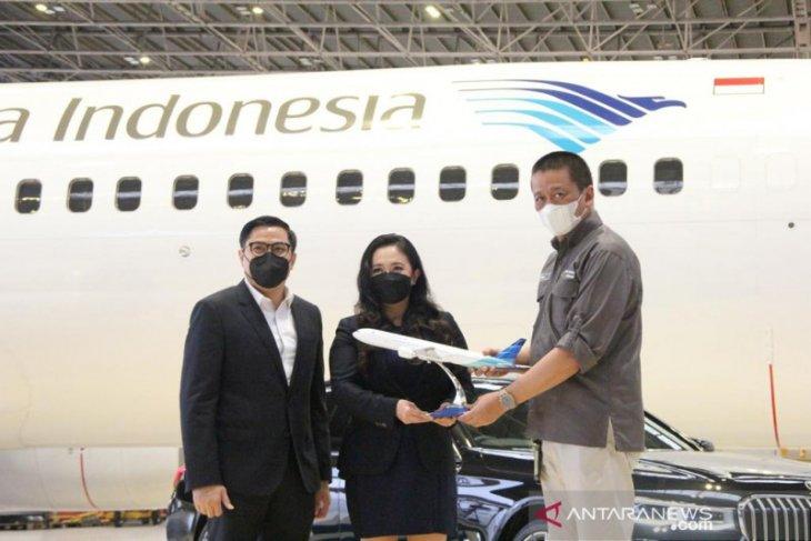 Garuda Indonesia bersama BMW luncurkan program