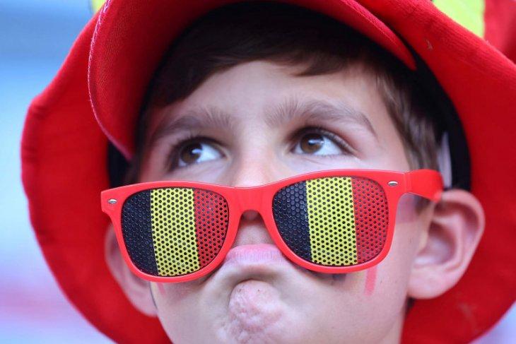 Susunan pemain Belgia vs Finlandia: Hazard, Bruyne, Witsel main