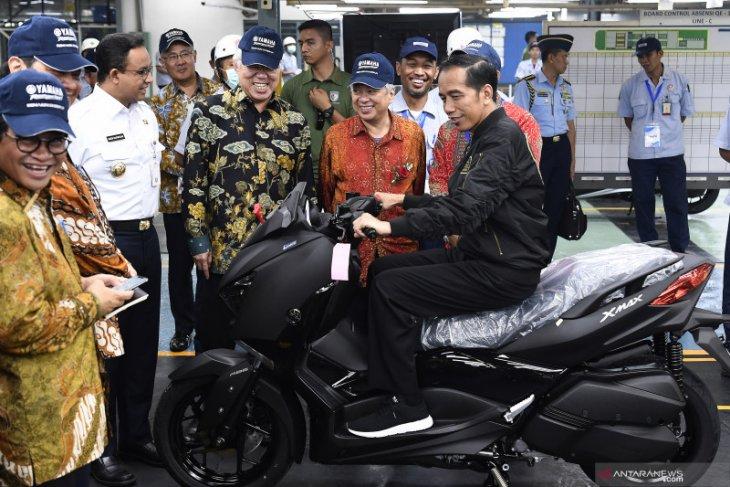 Pasar sepeda motor domestik ditaksir tembus 4,6 juta unit