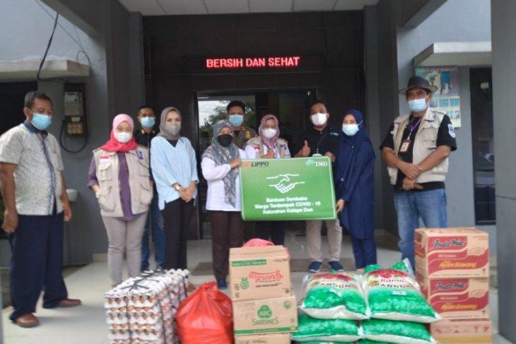 Lippo karawaci salurkan bantuan paket sembako warga terdampak COVID-19