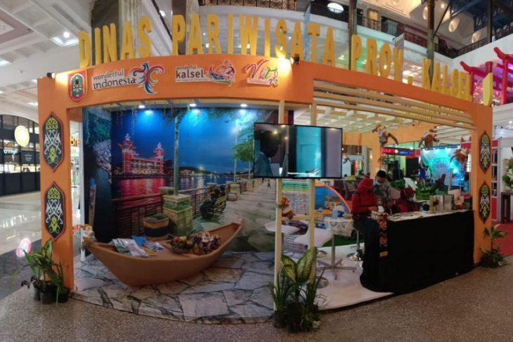 Dinas Pariwisata Kalsel berpartisipasi dalam JIATTEX EXPO 2021
