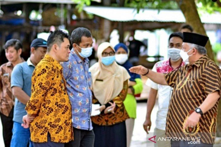 Pemkab Bangka Barat tata ulang perparkiran di Pasar Mentok