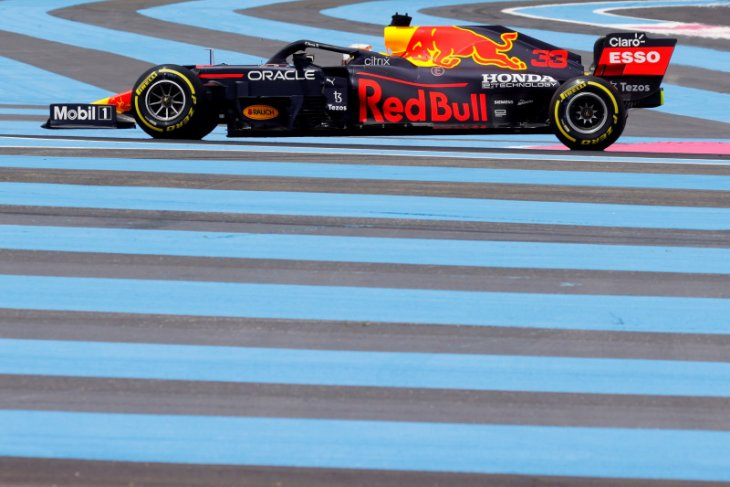 Verstappen puncaki FP2 GP Prancis, ungguli Bottas
