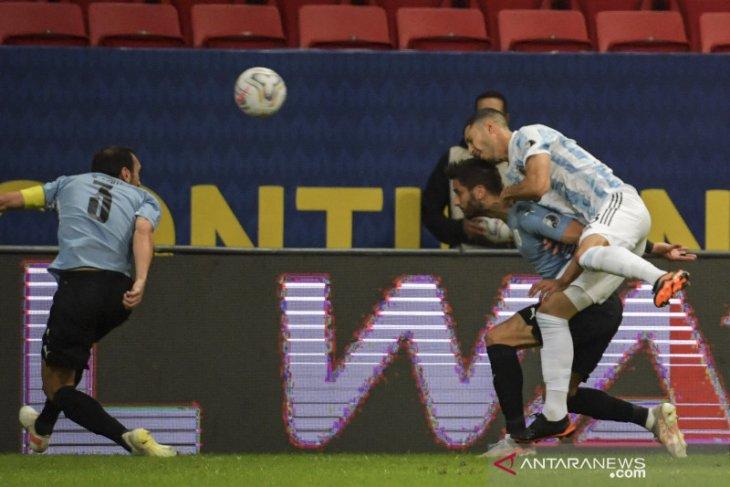 Taklukkan Uruguay, Argentina puncaki Grup A Copa America 2021