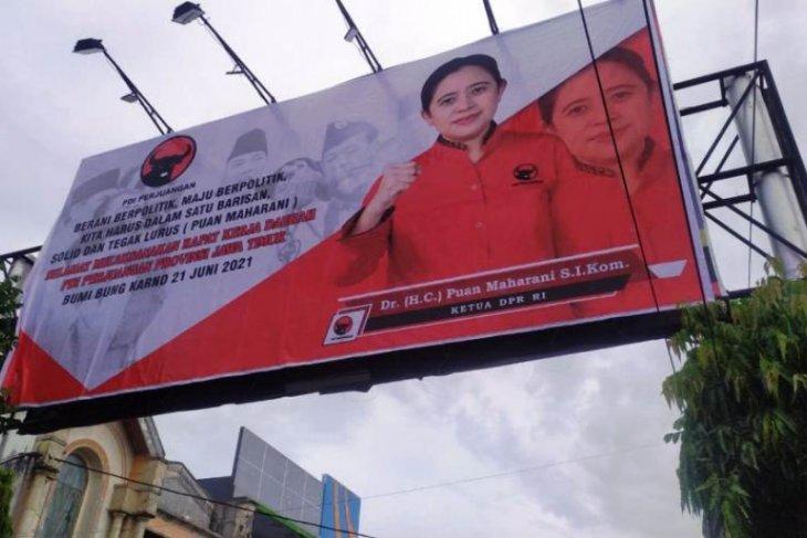 Baliho Puan Maharani makin masif berefek positif untuk 2024