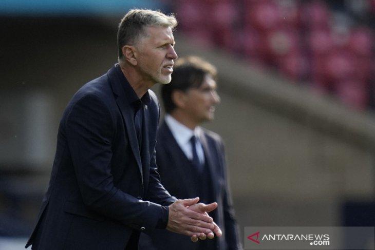 Walau cuma dapat satu poin, pelatih Ceko tetap puas karena lawannya Kroasia