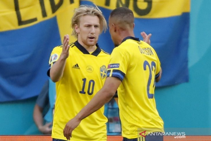 Euro 2020, Obrolan turun minum bantu Swedia main bagus babak kedua lawan Slovakia
