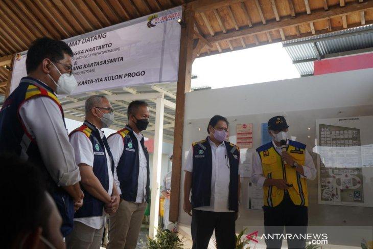 Airlangga tinjau pembangunan tol Yogyakarta-Solo-Semarang