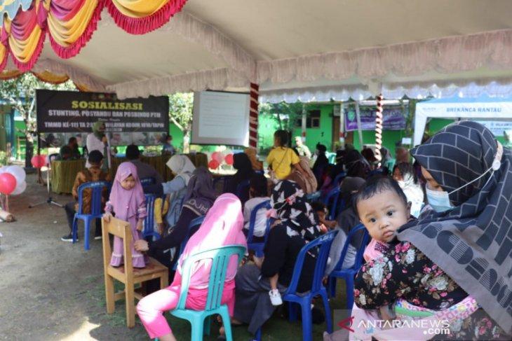 TMMD ke-111 di Tapin : Pencegahan stunting penting untuk masa depan negara Indonesia