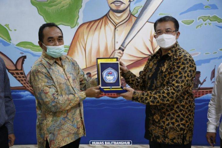 Gali potensi riset transportasi Maluku Balitbanghub sambangi Unpatti Ambon