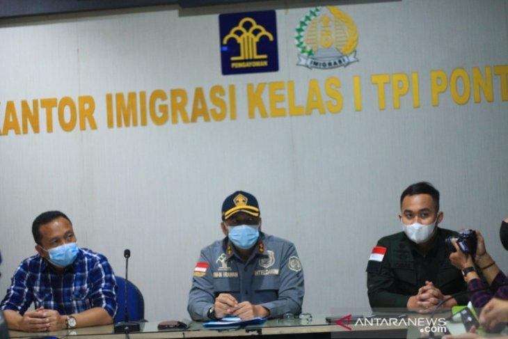 Kantor Imigrasi Pontianak pulangkan 27 warga negara Vietnam pencuri ikan