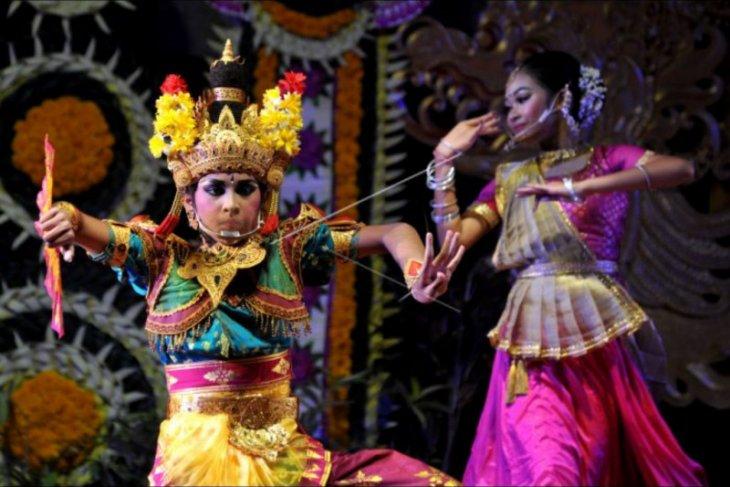 Kolaborasi Bali - India di PKB