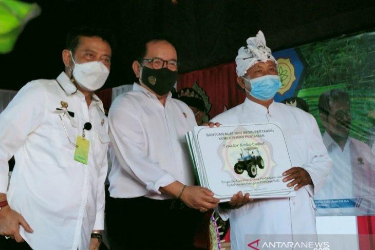 Mentan dorong petani Bali tingkatkan hasil produksi dan kualitas beras