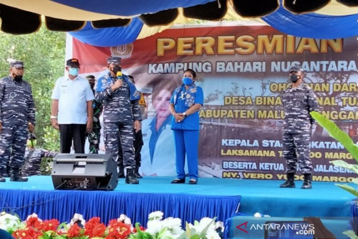 KASAL resmikan Ohoi Dian Darat jadi Kampung Bahari Nusantara di Maluku Tenggara