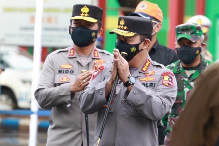 Kapolri paparkan  langkah  pengendalian COVID-19 di Bangkalan