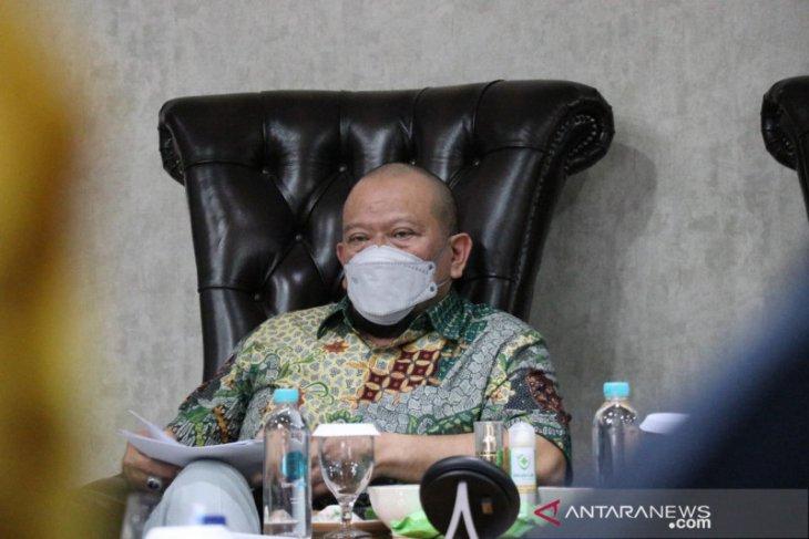 Ketua DPD RI La Nyalla minta Polri usut tuntas kasus jurnalis ditembak di Sumut