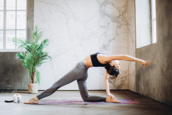 Kemenkes RI dan Kedutaan Besar India gelar yoga virtual