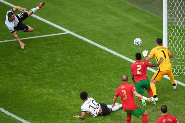 Robin Gosens kunci kemenangan Jerman atas Portugal