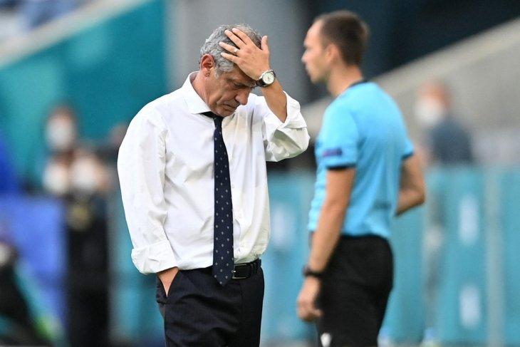 Euro 2020, Santos bertanggung jawab atas kekalahan Portugal