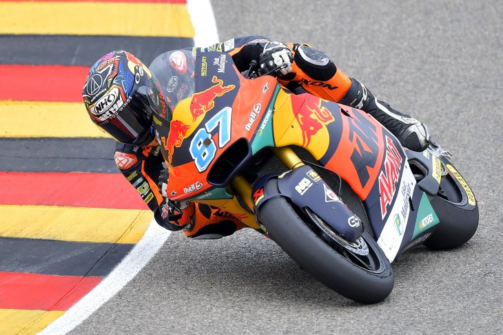 Gardner cetak sejarah hattrick kemenangan di Moto2 Jerman