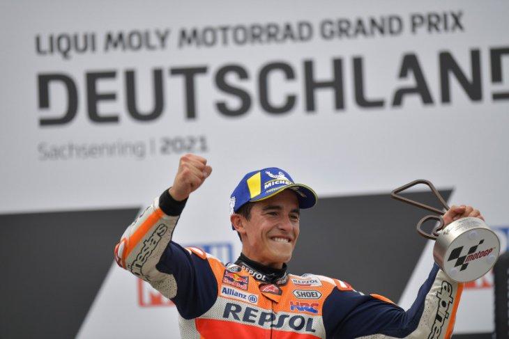 Marquez ungkap momentum di balik kemenangannya di  MotoGP Jerman