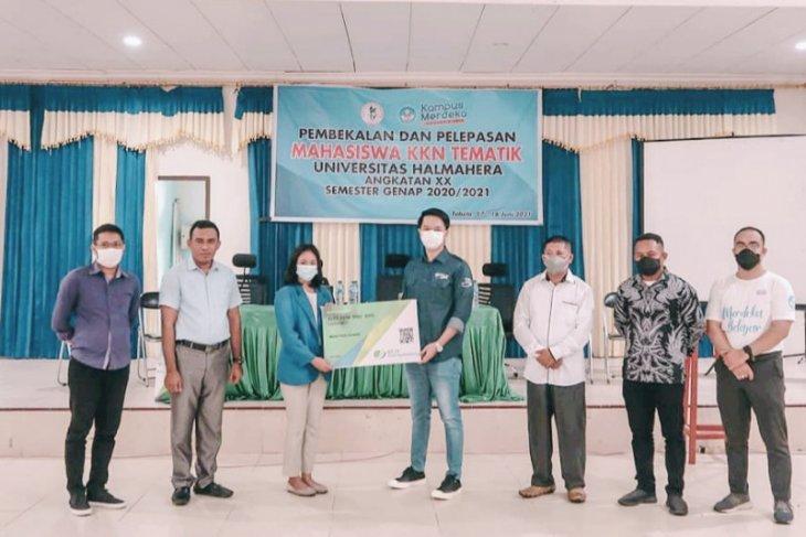 BPJS Ketenagakerjaan lindungi mahasiswa  KKN universitas Halmahera patut dicontohi