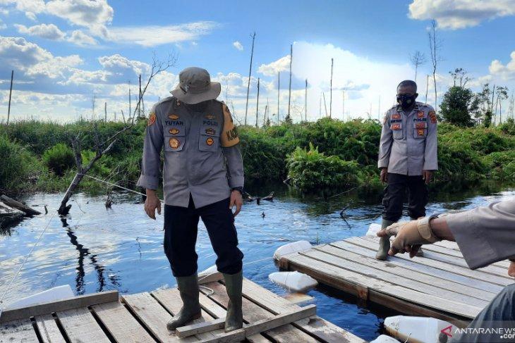Polres Muarojambi memberdayakan nelayan jaga kanal dan cegah karhutla